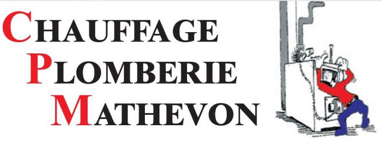 Logo CPM (CHAUFFAGE PLOMBERIE MATHEVON)